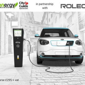 City & Guilds 2919 Electric Vehicle Charge Point Installation Training (EV)